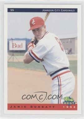 1993 Classic Best Johnson City Cardinals #24 - Jamie Surratt