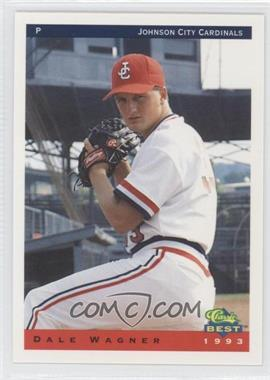 1993 Classic Best Johnson City Cardinals #27 - Dale Wagner