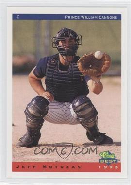 1993 Classic Best Prince William Cannons - [Base] #17 - Jeff Motuzas