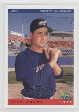 1993 Classic Best Prince William Cannons #27 - Rich Arena