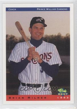 1993 Classic Best Prince William Cannons #28 - Brent Miller