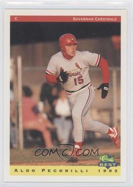 1993 Classic Best Savannah Cardinals - [Base] #1 - Aldo Pecorilli