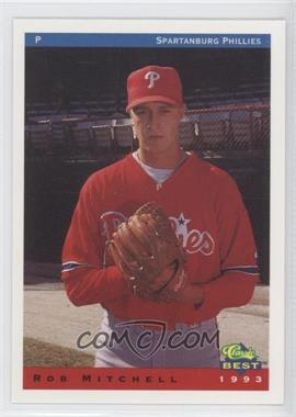 1993 Classic Best Spartanburg Phillies - [Base] #19 - Rob Mitchell
