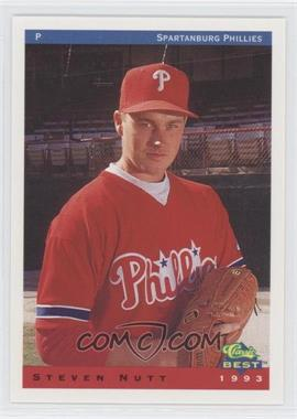 1993 Classic Best Spartanburg Phillies - [Base] #21 - Steve Nutt