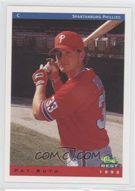 1993 Classic Best Spartanburg Phillies - [Base] #23 - Patrick Ruth
