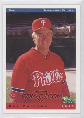 1993 Classic Best Spartanburg Phillies - [Base] #25 - Roy Majtyka