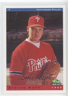 1993 Classic Best Spartanburg Phillies #21 - Steve Nutt