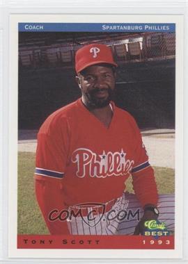 1993 Classic Best Spartanburg Phillies #26 - Tony Scruggs