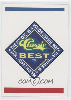 1993 Classic Best Spartanburg Phillies #30 - Checklist
