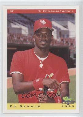 1993 Classic Best St. Petersburg Cardinals #13 - Ed Gerald
