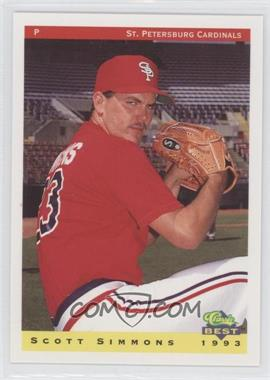 1993 Classic Best St. Petersburg Cardinals #23 - Scott Simmons