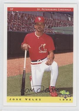 1993 Classic Best St. Petersburg Cardinals #26 - [Missing]
