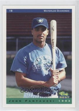 1993 Classic Best Waterloo Diamonds #15 - John Fantauzzi