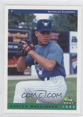 1993 Classic Best Waterloo Diamonds #19 - Adrian Hollinger