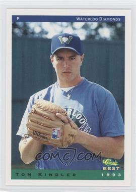 1993 Classic Best Waterloo Diamonds #20 - Tom Kindler