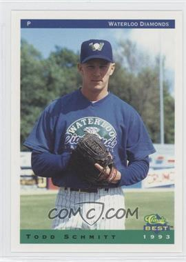 1993 Classic Best Waterloo Diamonds #26 - Todd Schmitt