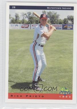 1993 Classic Best Watertown Indians #23 - Rick Prieto