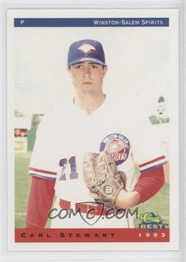 1993 Classic Best Winston-Salem Spirits - [Base] #23 - Carl Stewart