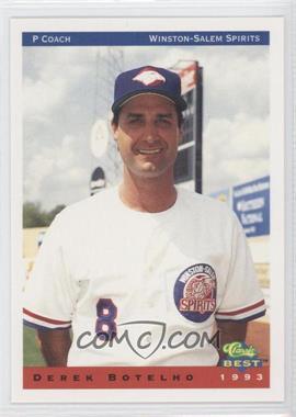 1993 Classic Best Winston-Salem Spirits #26 - Derek Botelho