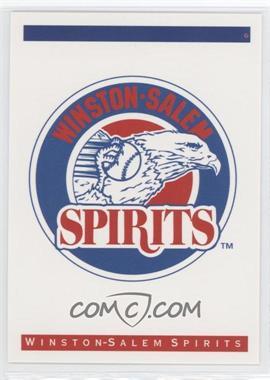 1993 Classic Best Winston-Salem Spirits #N/A - Winston-Salem Spirits Team