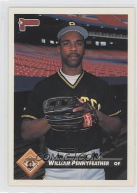 1993 Donruss - [Base] #702 - Will Pennyfeather