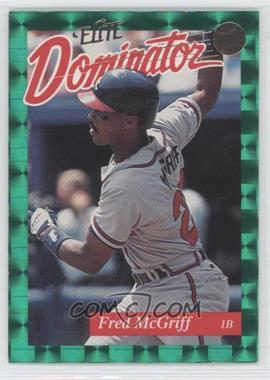 1993 Donruss Elite Dominator #2 - Fred McGriff /5000