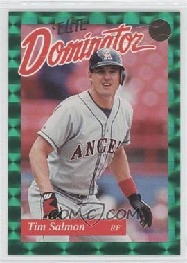 1993 Donruss Elite Dominator #7 - Tim Salmon /5000