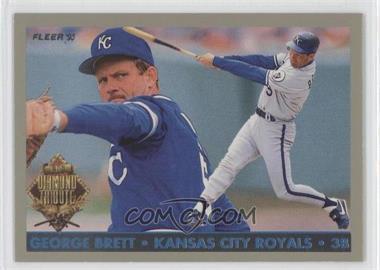 1993 Fleer Final Edition - Diamond Tribute #2 - George Brett