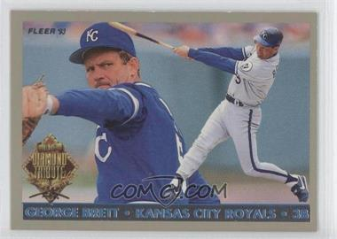 1993 Fleer Final Edition Diamond Tribute #2 - George Brett