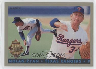 1993 Fleer Final Edition Diamond Tribute #6 - Nolan Ryan