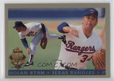 1993 Fleer Final Edition Diamond Tribute #6 - Nolan Ryan