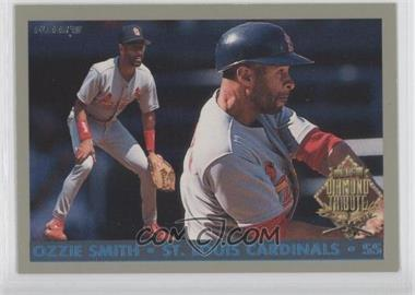 1993 Fleer Final Edition Diamond Tribute #8 - Ozzie Smith