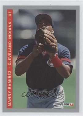 1993 Fleer Final Edition #F-204 - Manny Ramirez