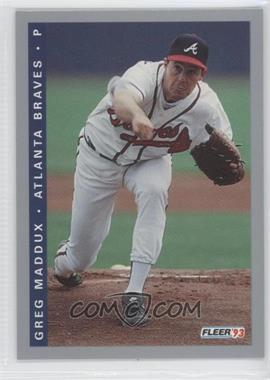 1993 Fleer Final Edition #F-3 - Greg Maddux