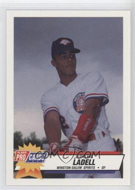 1993 Fleer ProCards Carolina League All-Star Game - [Base] #CAR-43 - Cleveland Ladell
