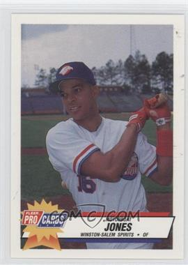 1993 Fleer ProCards Carolina League All-Star Game #CAR-42 - Motorboat Jones