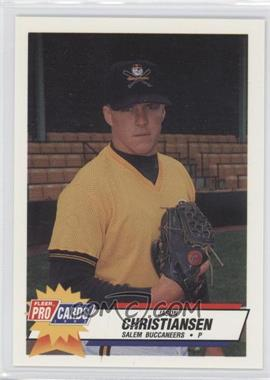 1993 Fleer ProCards Carolina League All-Star Game #CAR-47 - Jason Christiansen