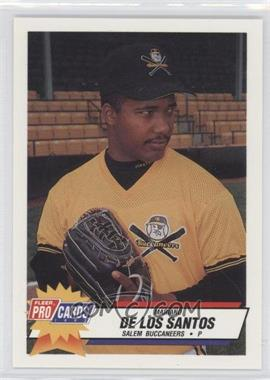 1993 Fleer ProCards Carolina League All-Star Game #CAR-48 - Mariano De Los Santos