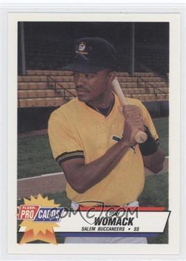 1993 Fleer ProCards Carolina League All-Star Game #CAR-51 - Tony Womack