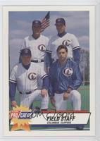 Field Staff (Ted Uhlaender, Mike Brown, Hop Cassady, Darren London)