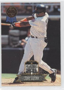 1993 Leaf - Heading for the Hall #2 - Tony Gwynn