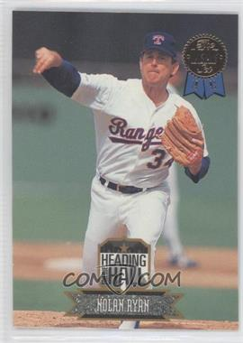 1993 Leaf Heading for the Hall #1 - Nolan Ryan