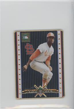 1993 Metallic Impressions Cooperstown Collection - Collector's Tin [Base] #5 - Lou Brock
