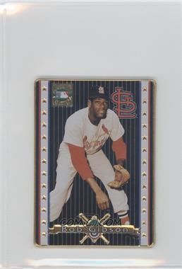 1993 Metallic Impressions Cooperstown Collection Collector's Tin [Base] #10 - Bob Gibson