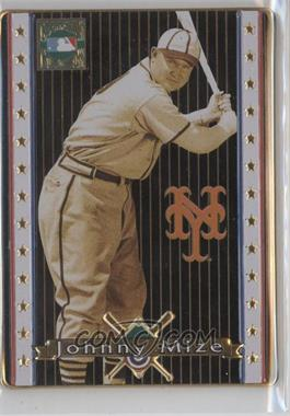 1993 Metallic Impressions Cooperstown Collection Collector's Tin [Base] #13 - Johnny Mize