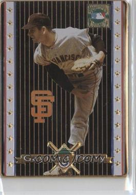 1993 Metallic Impressions Cooperstown Collection Collector's Tin [Base] #15 - Gaylord Perry