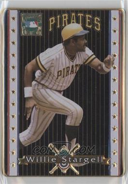 1993 Metallic Impressions Cooperstown Collection Collector's Tin [Base] #19 - Willie Stargell