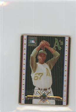 1993 Metallic Impressions Cooperstown Collection Collector's Tin [Base] #2 - Vida Blue