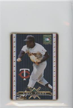 1993 Metallic Impressions Cooperstown Collection Collector's Tin [Base] #20 - Luis Tiant