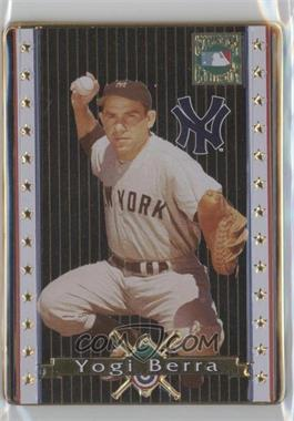 1993 Metallic Impressions Cooperstown Collection Collector's Tin [Base] #3 - Yogi Berra